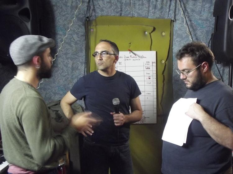 Robert Farrugia Flores, Adrian Grima u Justin Galea, fi rwol ġdid. (24.4.14)