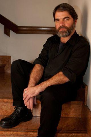 Poet Dimitris Troaditis in a reflective moment Photo: Peter Kakalias