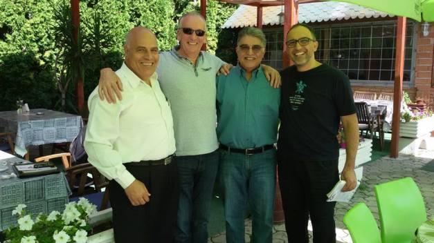 Nizar Sartawi, Gene Barry, Muhammad Ikbal Harb, Adrian Grima