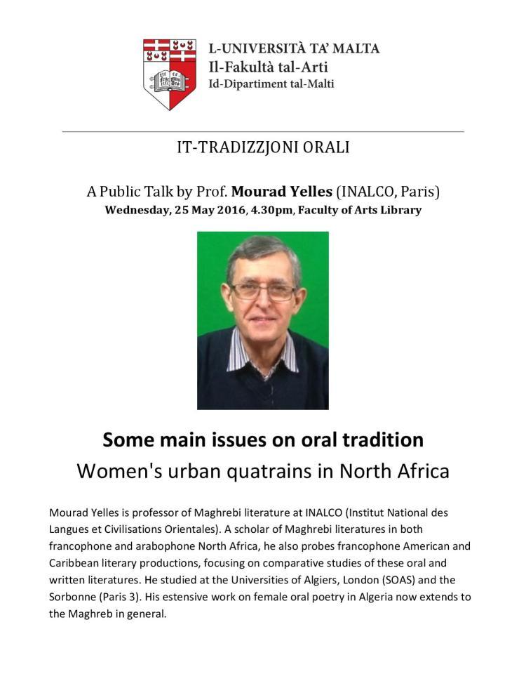 Taħdita Pubblika - It-Tradizzjoni Orali - Poster-page-001