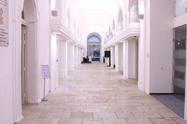 valletta campus corridor isfel