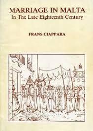 frans ciappara - marriage in malta