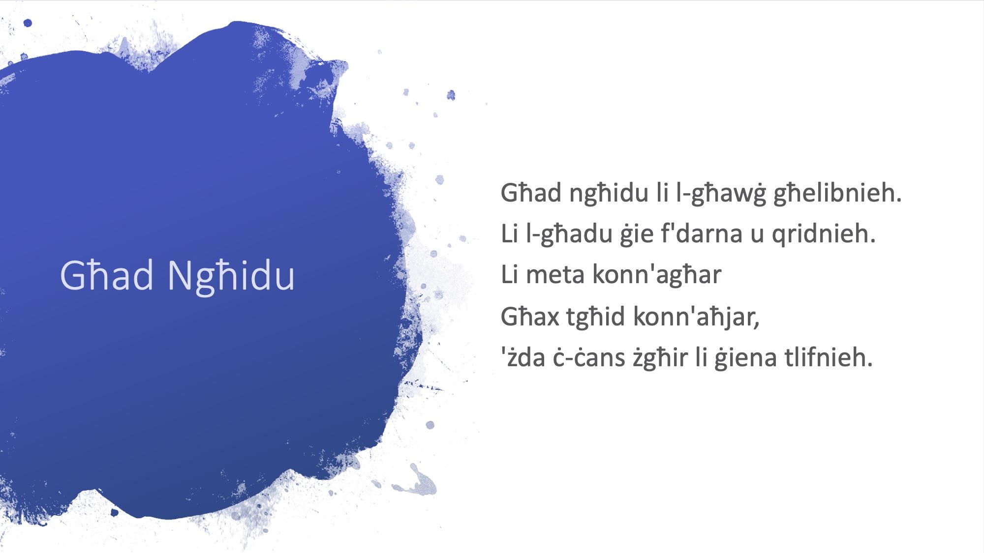 Il-Limerikki tal-Covid-19 - Għad Ngħidu - 2